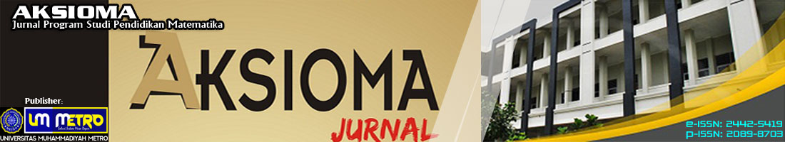 AKSIOMA - Jurnal Program Studi Pendidikan Matematika