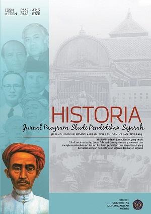 HISTORIA: Jurnal Program Studi Pendidikan Sejarah